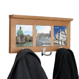 Take a trip down the Grand Canal in Venice Coat Rack