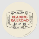 Take a Trip to Reading Railroad Stickers