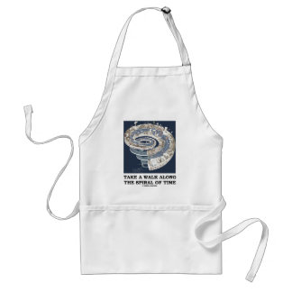 Take A Walk Along The Spiral Of Time (Earth's Age) Adult Apron