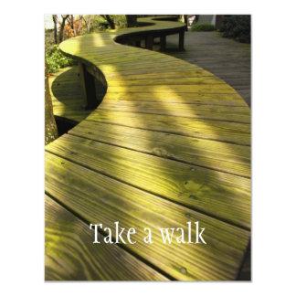 Take a Walk Card
