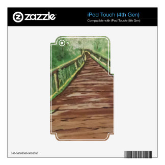 take a walk decal for iPod touch 4G