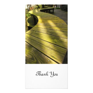 Take a Walk Customized Photo Card