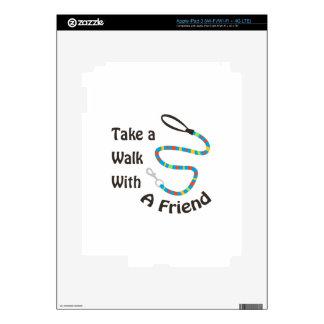 Take A Walk With A Friend Skin For iPad 3