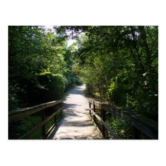 Take a walk with me... postcard
