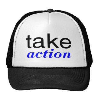 Take Action Blue Hat