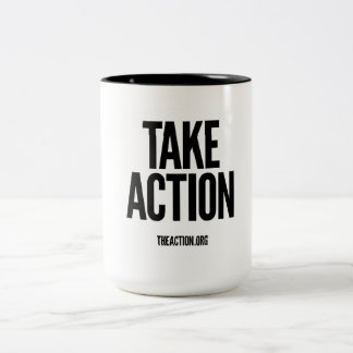 Take Action Coffee Cup