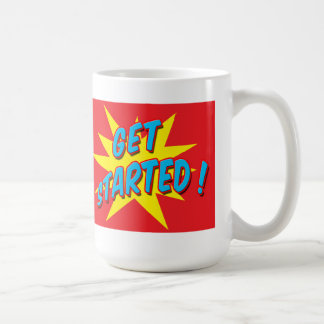 Take Action Get Started Mug