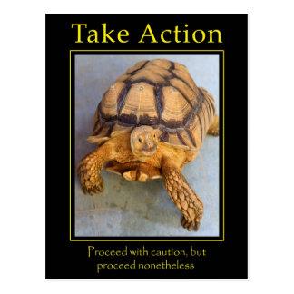 Take Action Postcard