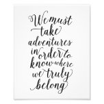 Take Adventures | Art Print