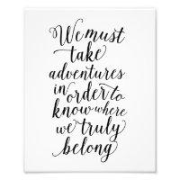 Take Adventures | Art Print