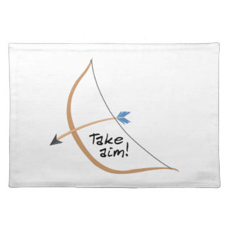 Take Aim Cloth Placemat