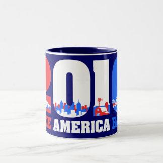 Take America Back 2010 Two-Tone Coffee Mug