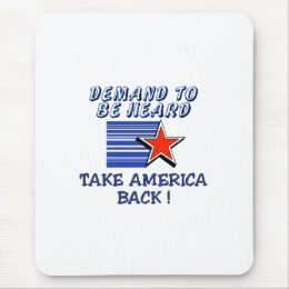 Take America Back Mouse Pad