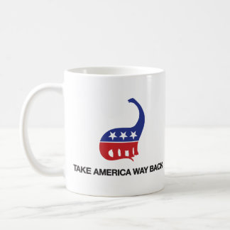 Take America Way Back Mug