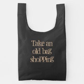 Take an old bag shopping