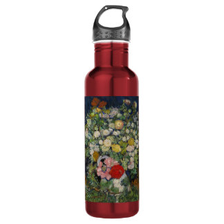 take art with you.. stainless steel water bottle