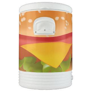Take-away burger cooler