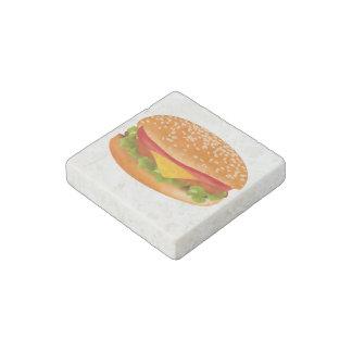 Take-away burger stone magnet