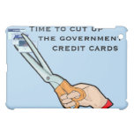 Take away the government credit cards iPad mini case