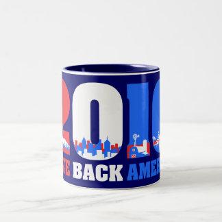 Take Back America 2010 Two-Tone Coffee Mug