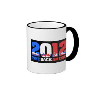 Take Back America 2012 Ringer Coffee Mug