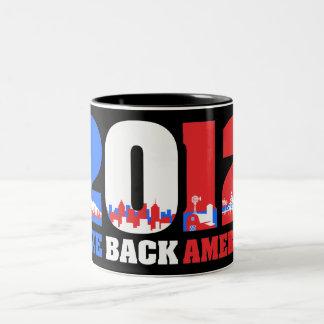 Take Back America 2012 Two-Tone Coffee Mug