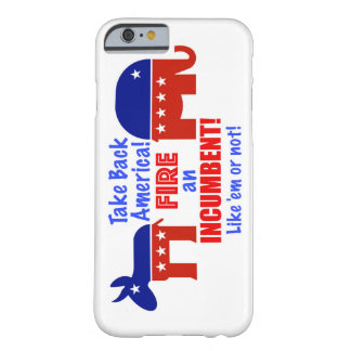 Take Back America iPhone Case. Barely There iPhone 6 Case
