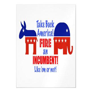 Take Back America Magnet