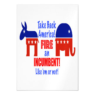 Take Back America Magnet Magnetic Card