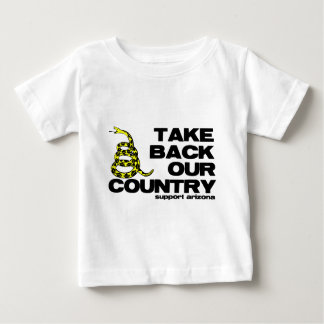 take back our country baby T-Shirt