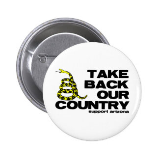 take back our country button