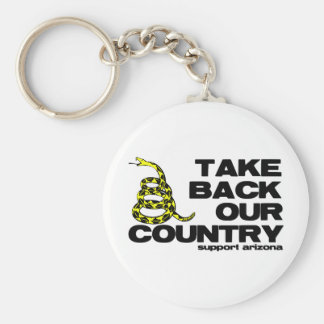 take back our country keychains