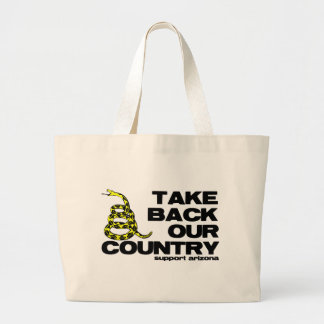 take back our country tote bag
