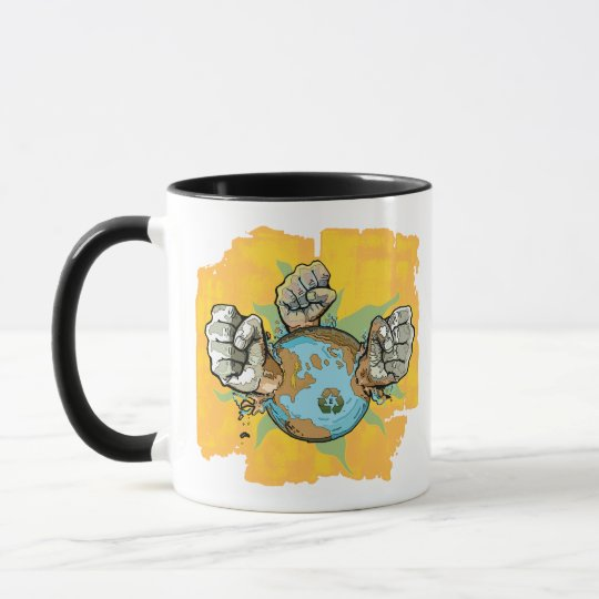Take Back Our Planet Earth Day Gear Mug