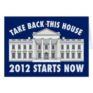 Take Back the White House Greeting Card