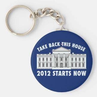 Take Back the White House Keychain