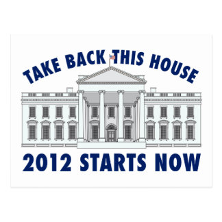 Take Back the White House Postcard