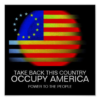 TAKE BACK THIS COUNTRY OCCUPY AMERICA POSTER