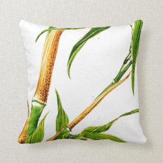 Take Bamboo 1870 Throw Pillow