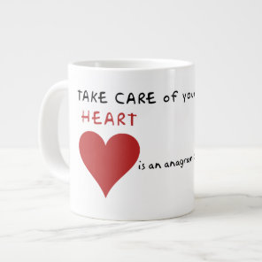 Take care of mother earth giant coffee mug