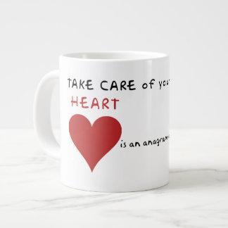 Take care of mother earth giant coffee mug