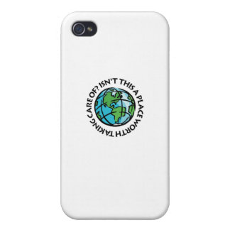 Take Care Of The Earth Covers For iPhone 4