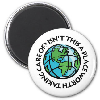 Take Care Of The Earth Refrigerator Magnets