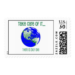 Take Care of the Earth Postage