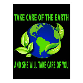 TAKE CARE OF THE EARTH POSTCARD