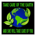 TAKE CARE OF THE EARTH POSTER