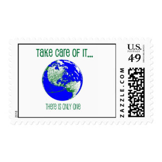 Take Care of the Earth Stamps