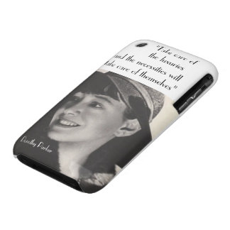 Take Care of the Luxuries iPhone Case iPhone 3 Case-Mate Case