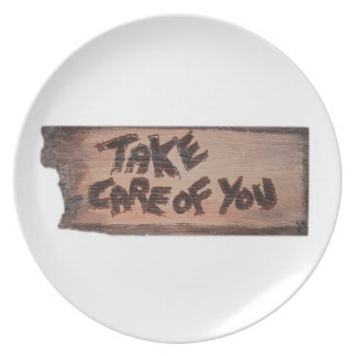 take care of you plate