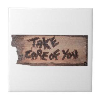 take care of you ceramic tiles